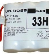 3.6V Uniross Cordless Phone Battery 3×2/3AAA NiMH 33H BC101536