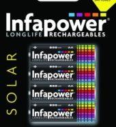 Infapower (B008) AA 800mAh Solar Light batteries – pack of 4