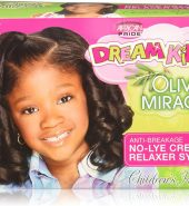 African Pride Dream Kids Olive Miracle No-Lye Creme Relaxer System Regular