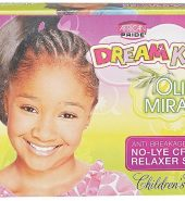 African Pride Dream Kids Olive Miracle No-Lye Creme Relaxer System Super