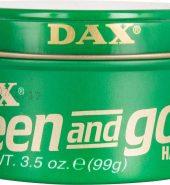 Dax Super Green and Gold Hair Wax 3.5oz