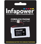 InfaPower Cordless Telephone Rechargeable Ni-MH AA Batteries – Pack of 2