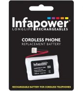 InfaPower Cordless Telephone Rechargeable Ni-MH AAA Batteries – Pack of 3