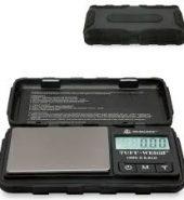 On Balance Tuff-Weigh TUFF-100 Digital Scales – Black 0.01 x 100g