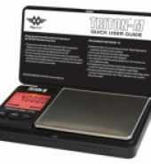 My Weigh Triton Mini – Mini Digital Scales with cover