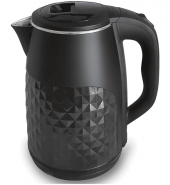 Infapower 2.5L 360° Diamond Design Cordless Kettle 1800w Black