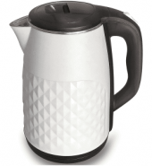 Infapower 2.5L 360° Diamond Design Cordless Kettle 1800w White