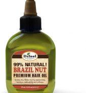 Difeel Premium Natural Hair Oil – Brazil Nut Oil 75ml