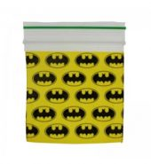 Grip Seal Zipper Printed Bag Baggies Batman Design 50mm x 50mm