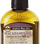 Difeel Premium Natural Hair Oil – Macadamia Oil 75ml