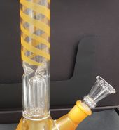 Glass Water Bong With Filter 30cm AC99 Assorted Colours