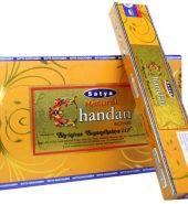 Satya Natural Chandan/Sandalwood Incense Sticks 12 packs of 15's