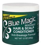 Blue Magic Condition Hairdress Bergamont Green 12oz