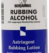 Benjamins Rubbing Alcohol 500ml
