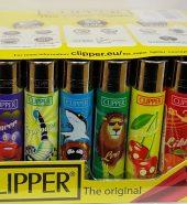 Clipper Horoscope Print Flint Lighter