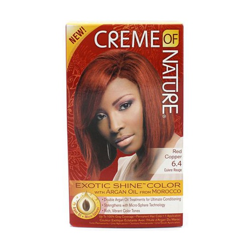 Cream of Nature Exotic Shine Gel #6.4 - Red Copper Kit