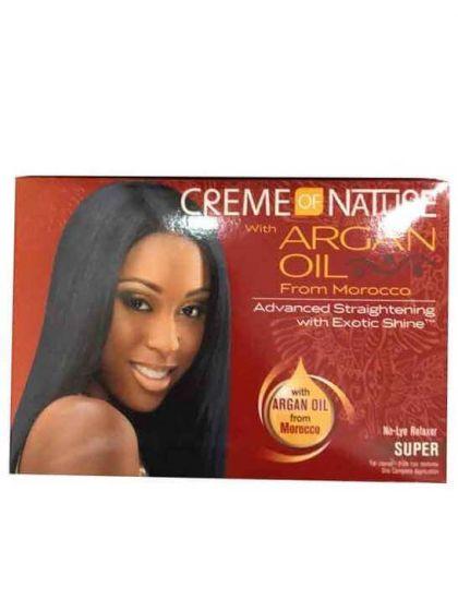 Creme of Nature Argan Oil No-Lye Relaxer Super