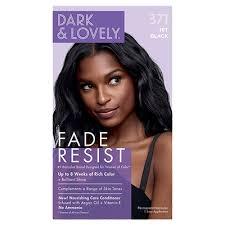 Dark & Lovely Hair Dye Jet Black #371