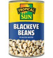 Tropical Sun Blackeye Beans Tin 400g