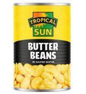 Tropical Sun Butter Beans Can 400g
