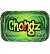 Chongz Green Metal Rolling Tray – Small (27 x 17 cm)