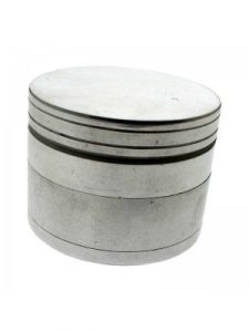 Metal Grinder - Metallic Silver