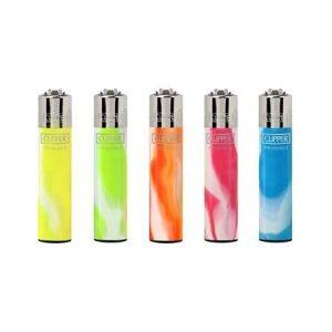 Clipper Fluo Nebula Gradient Flint Lighter