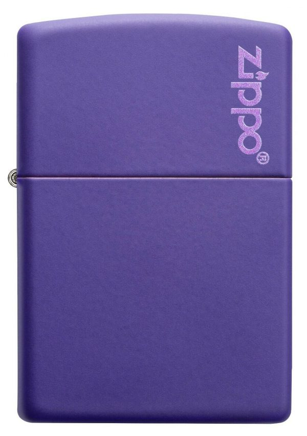 Genuine New Zippo Classic Purple Matte Petrol Lighter 237ZL