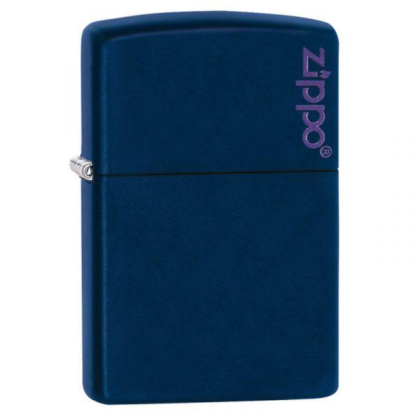 Genuine New Zippo® Slim® Navy Blue Matte 1639ZL