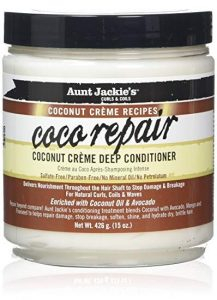 Aunt Jackie's Coco Repair Deep Conditioner 15oz