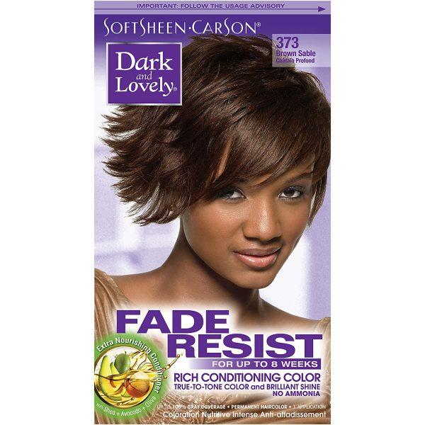 Dark & Lovely Hair Dye Sable Brown