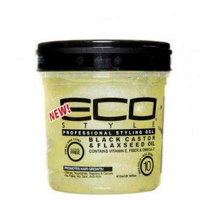 Eco Styler Black Castor & Flaxseed Oil 16oz
