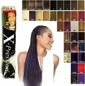 X-Pression Hair Various Colours