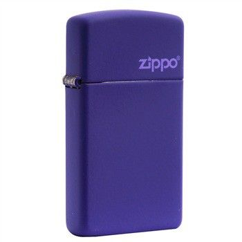 Genuine New Zippo® Slim® Purple Matte 1637ZL