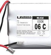 Uniross PT6 – 06C 3.6v 700mAh Cordless Phone Battery