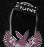 Playboy Spinner Key Chain Key Fob Letter A