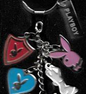 Playboy Keytree Metal Key Chain