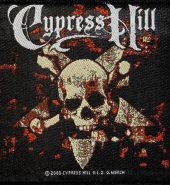 Cypress Hill 'Crossbones' Embroidered Patch