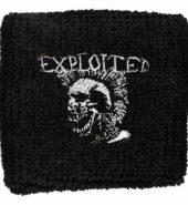 EXPLOITED Sweatband – Mohican Skull