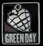 New Official Green Day 'Grenade' Metal Belt Buckle