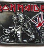 New Official Iron Maiden 'Trooper' Metal Belt Buckle