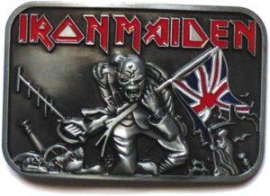New-Official-Iron-Maiden-'Trooper'-Metal-Belt-Buckle
