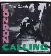 The Clash 'London Calling' Embroidered Patch