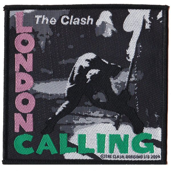 The-Clash-'London-Calling'-Embroidered-Patch