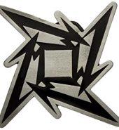 New Official Metallica 'Ninja Star' Metal Belt Buckle