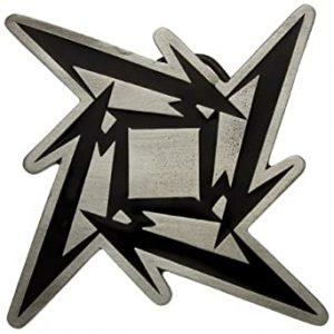 New-Official-Metallica-Ninja-Star-Metal-Belt-Buckle