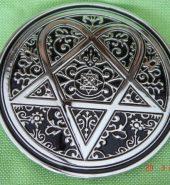 New Official Pentagram Metal Belt Buckle
