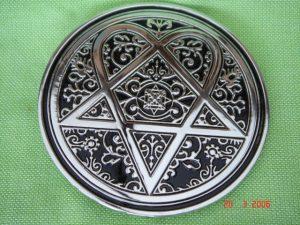 New-Official-Pentagram-Metal-Belt-Buckle