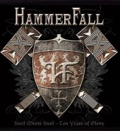 Hammerfall 'Steel meets Steel' Embroidered Patch