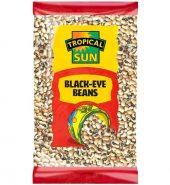 Tropical Sun Blackeye Beans – Dry 500g